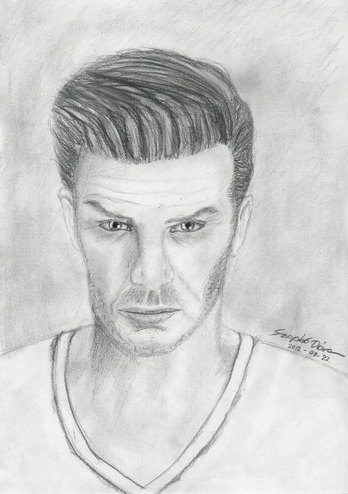 David Beckham by Pixie